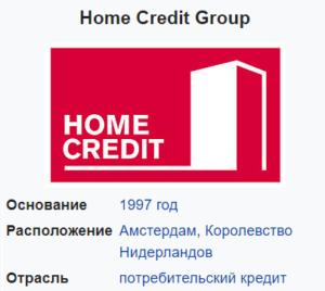 Кому принадлежит Банк Хоум Кредит?